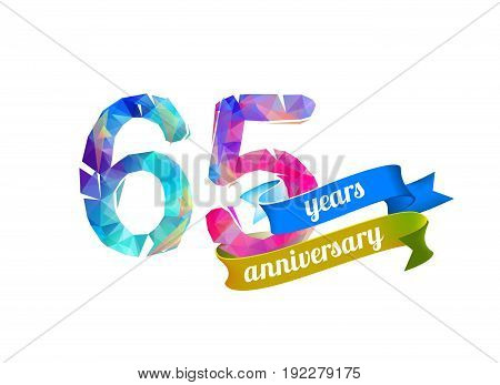65 (sixty Five) Years Anniversary.