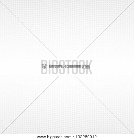 Gray abstract perspective on white background. Vector
