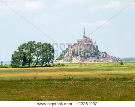 Mont St. Michel France: Along the route of the castles on the Loire River - Abbey of Mont St. Michel