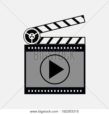 icon film media player fully editable image