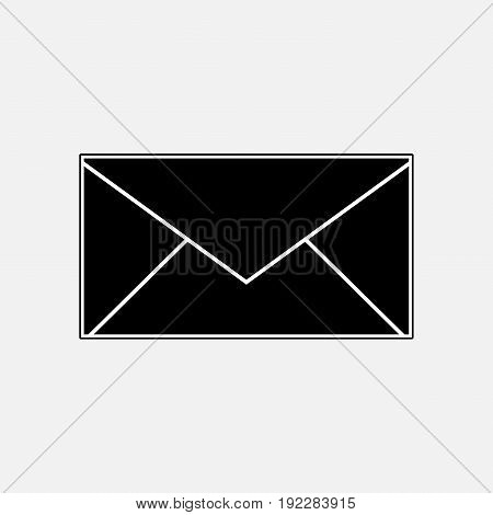 post icon envelope mail messaging fully editable image