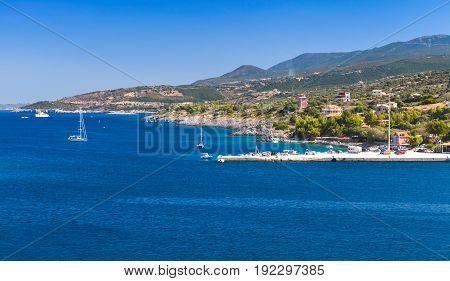 Bay Of Agios Nikolaos. Zakynthos Island