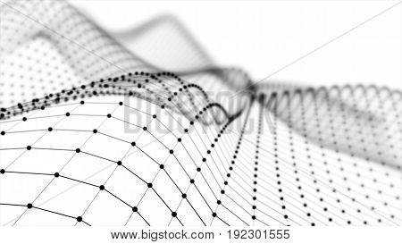 Wireframe - A Skeletal Three-dimensional Model In Which Only Lines And Vertices Are Represented 3D I