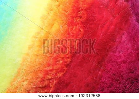 Texture and background of fabric of different colors for design