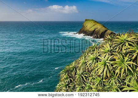 Rocky Coast At Sao Rogue On Sao Miguel Island.