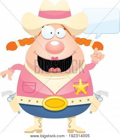 Cartoon Sheriff Idea