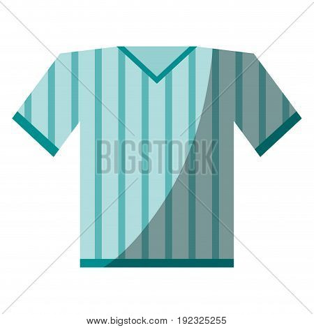 shirt clothe sport icon vector illustration design shadow