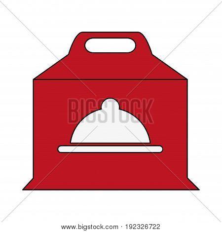 pizza domicile fast food icon vector illustration design image