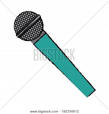 microphone voice sound audio speech vector illustration