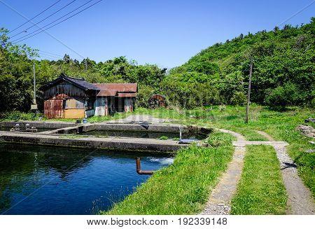 Rural Scenery In Tohoku, Japan