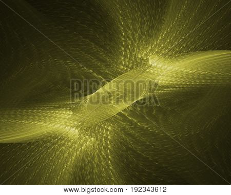 Micro organism. Abstract background. Isolated on black background.