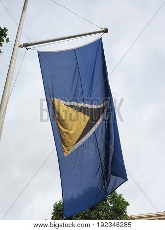 Saint Lucian Flag Of St Lucia