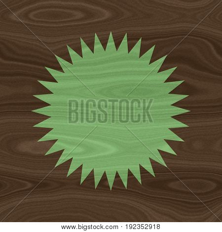 Circular round shape wooden wood texture background