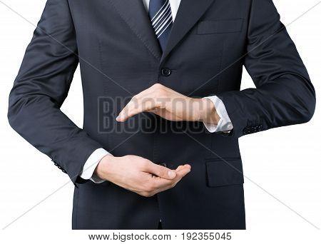 Business man hands businessman image background design