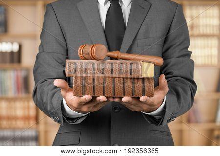 Hands hand hammer books judge judge hammer vintage texture