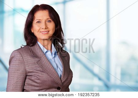 Business woman professional middle aged middle aged female beautiful person