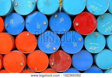 Old Oil Tanks After Uesd
