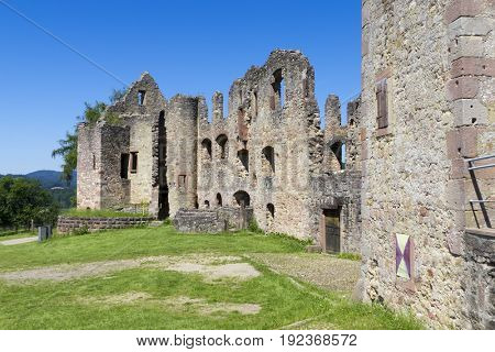 An image of the Castle Hochburg at Emmendingen Germany