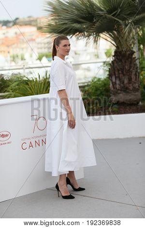 Maryana Spivak attends the 'Loveless (Nelyubov)' photocall during the 70th annual Cannes Film Festival at Palais des Festivals on May 18, 2017 in Cannes, France.