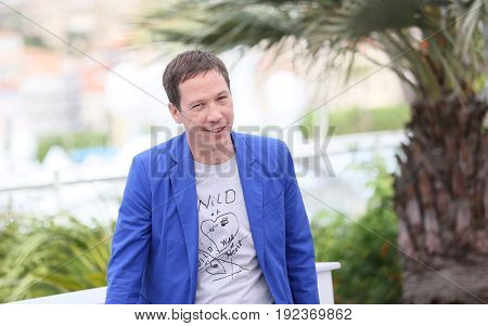 Reda Kateb  attends the Jury un Certain Regard photocall during the 70th annual Cannes Film Festival at Palais des Festivals on May 18, 2017 in Cannes, France.