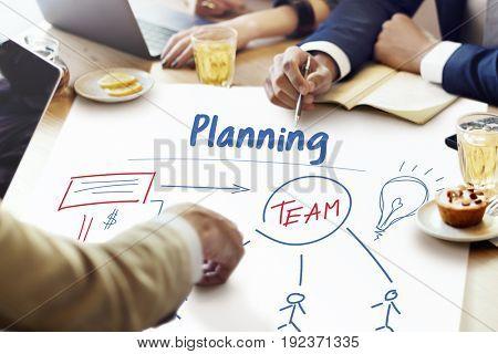 Business Marketing Plan Strategy Teamwork Organization