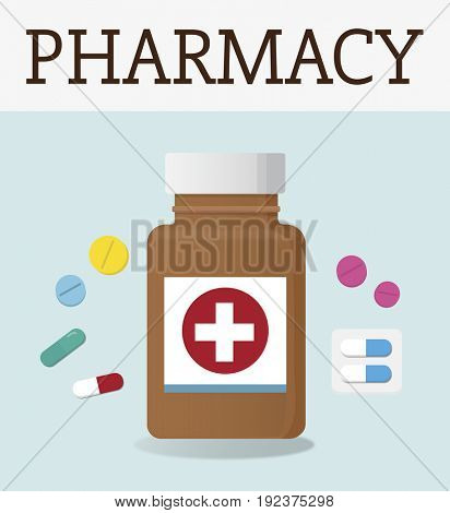 Medical Healthcare Medicine Treatment Graphic