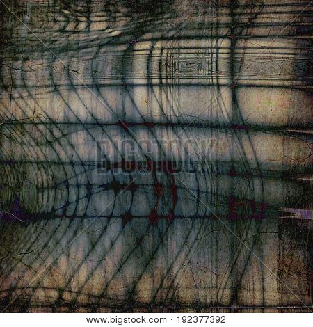 Grunge texture. With different color patterns: yellow (beige); green; brown; gray; blue; black