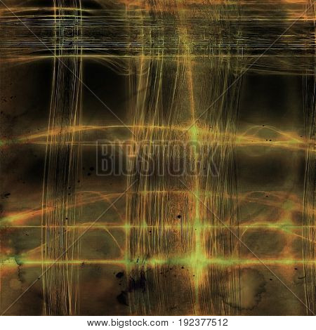 Digitally designed background or texture for retro style frame. With different color patterns: yellow (beige); brown; gray; green; red (orange)