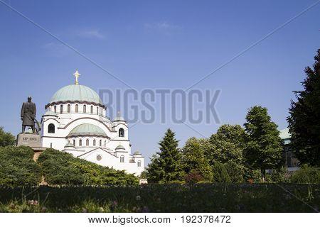 Temple of Saint Sava, Belgrade, Serbia.