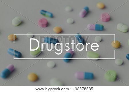 Dietary Supplement Healthcare Treatment Drugstore