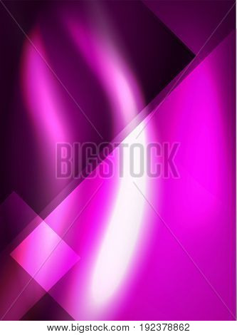 Shiny silk wave abstract background, wallpaper with wave shape and light effects, smooth style