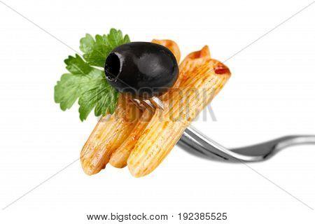 Pasta penne rigate pasta penne penne pasta pasta fork pasta on fork