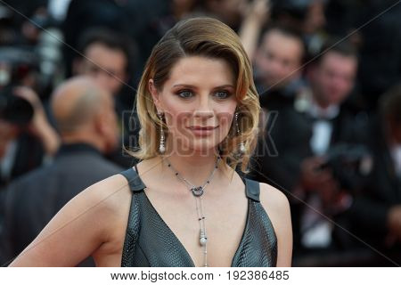 Mischa Barton attends the 70th Anniversary screening  premiere for at the 70th Festival de Cannes. May 23, 2017 Cannes, France