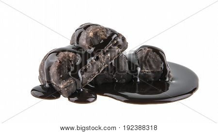 Chocolate Candy Isolated On White Background