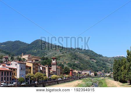 City View Of Pescia, Italy