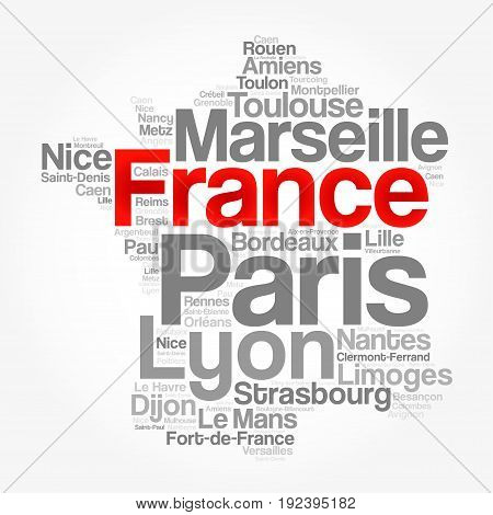 List Of Cities And Towns In France