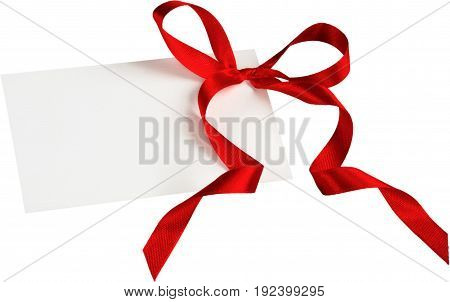 Label blank price white background paper space