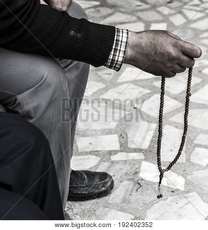 People in turkey to draw praise, to come from the top of the stress to make praise,