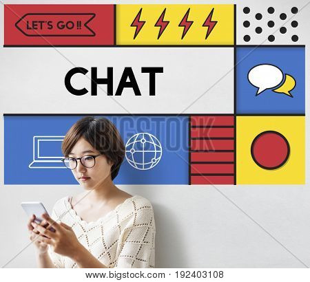 Chat Communication Connection Interaction Concept