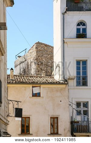 Medieval Urban House In Nimes City