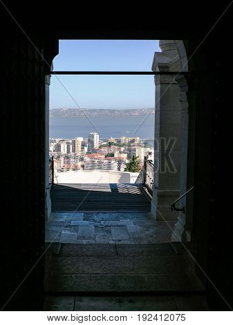 Above View Of Marseilles City From Basilica