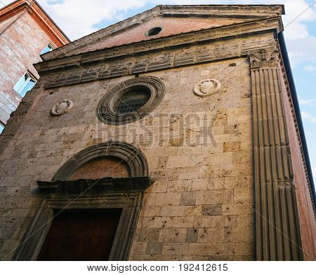 Santa Maria Delle Nevi In Siena City