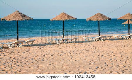 Beach Praia Rocha Baixinha Nascente In Vilamoura