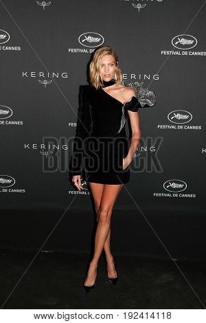Anja Rubik at the Women in Motion Awards Dinner  for at the 70th Festival de Cannes.May 21, 2017 Cannes, France