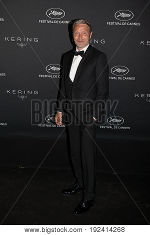 Mads Mikkelsen at the Women in Motion Awards Dinner  for at the 70th Festival de Cannes.May 21, 2017 Cannes, France