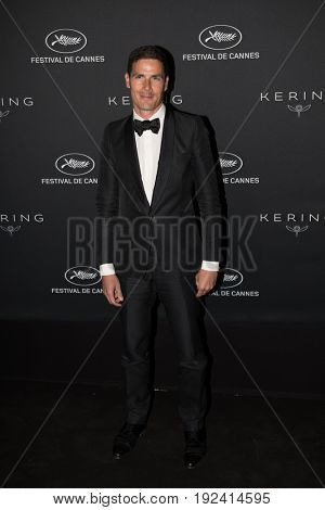 Christopher Thompson at the Women in Motion Awards Dinner  for at the 70th Festival de Cannes.May 21, 2017 Cannes, France