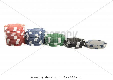 A Row Of Chips