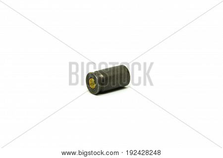 Sleeve from a gun on a white background.