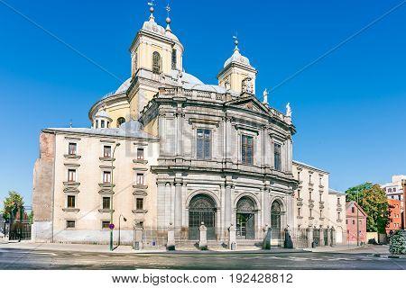 Church Basílica de San Francisco el Grande or Basilica of St. Francis of Great Madrid Spain