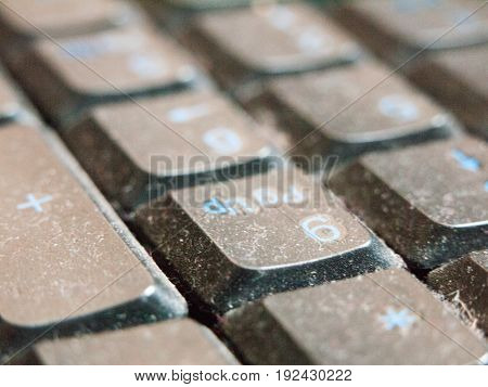 Keyboard For Pc Close Up